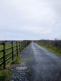 Sur une route irlandaise photo libre de droits