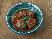 Sura Cherry Kabab Royaltyfri Foto