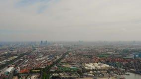 Surabaya capital city east java, indonesia stock footage
