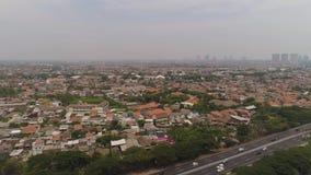 Surabaya huvudstad East Java, indonesia lager videofilmer