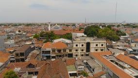 Surabaya huvudstadJawa Timur landskap Indonesien royaltyfri fotografi