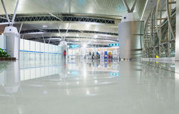 SURABAYA INDONEZJA, Marzec, - 25, 2016: Surabaya Juanda lotnisko międzynarodowe - intierior Surabaya, Wschodni Jawa Obraz Royalty Free