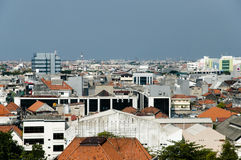 Surabaya - Java - Indonesien Arkivbild