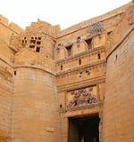 Suraj Pole, fuerte de oro, Jaisalmer, Rajasthán Imagen de archivo