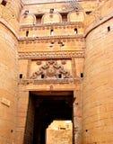 Suraj Pole 2, fuerte de oro, Jaisalmer, Rajasthán Fotos de archivo libres de regalías