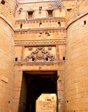 Suraj Pole2, Golden Fort, Jaisalmer, Rajasthan. Golden Fort, Jaisalmer, Rajasthan, India is a world heritage site built in 1156 AD... It has four massive Royalty Free Stock Photos