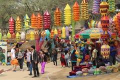 Surajkund,法里达巴德,印度 库存图片