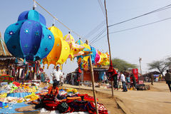 SurajKund Craft Fair Royalty Free Stock Images