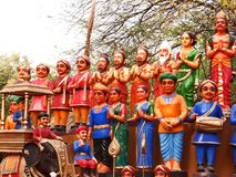 Surajkund Crafts Mela. Surajkund Crafts Fair is one of the most famous fairs, organized every year in Surajkund, by Haryana Tourism Department to promote royalty free stock photo