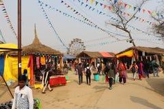 Surajkund Faridabad, Indien Arkivbilder