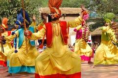 Surajkund hace el festival de Mela a mano foto de archivo libre de regalías