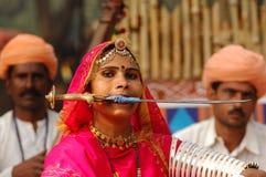 Surajkund macht Mela Festival in Handarbeit Lizenzfreie Stockfotos