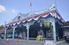 SURAKARTA INTERNA ROYAL PALACE Fotografia Stock Libera da Diritti
