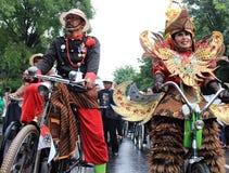 Surakarta karneval Fotografering för Bildbyråer