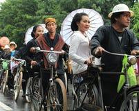Surakarta karneval Arkivbild