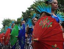 Surakarta karneval Royaltyfri Foto