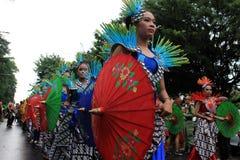 Surakarta karneval Royaltyfri Bild