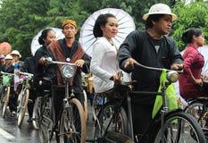 Surakarta karneval Royaltyfria Bilder