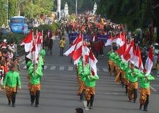 Surakarta king birthday Royalty Free Stock Photos