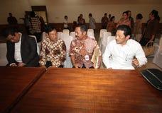 Surakarta palace conflict Stock Image