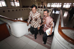 Surakarta palace conflict Royalty Free Stock Image