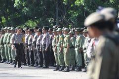 Surakarta police chief, Comr iriansyah Royalty Free Stock Image