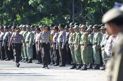 Surakarta police chief, Comr iriansyah Royalty Free Stock Photo
