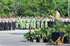 Surakarta police chief, Comr iriansyah Stock Images