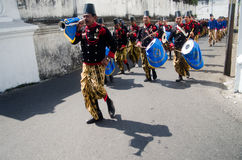 SURAKARTA ROYAL BAND Royalty Free Stock Photos