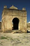 surakhany tempel för azerbaijan brand Royaltyfri Fotografi