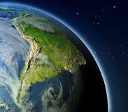 Suramérica de la órbita libre illustration