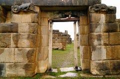 Suramérica, ruinas prehistóricas de la unión del La en Perú Imagen de archivo