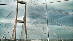 Suramadu桥梁 免版税库存照片