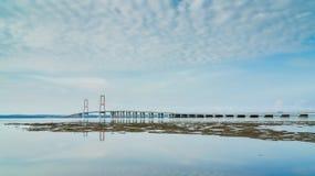 Suramadu桥梁 免版税图库摄影