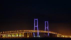 Suramadu-Brücke Stockfoto