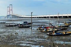 Suramadu bridge Surabaya Indonesia Royalty Free Stock Photography