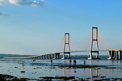 Suramadu bridge Surabaya Indonesia Stock Images