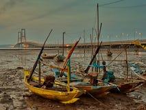 Suramadu bro Fotografering för Bildbyråer