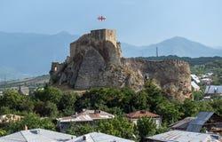 Surami fästning, Georgia Arkivfoton