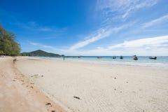 Surat Thani, 14 2016 Czerwiec: Piękna miejsca Sairee plaża w Ko Zdjęcia Royalty Free