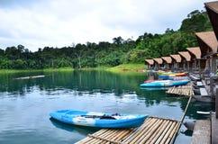 500 Rai Resort at Khao Sok national park Stock Photos