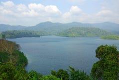SURAT THANI, THAILAND - January 19, 2014: Ratchaprapha Dam in Kh Stock Photography