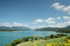 Surat- Thaniprovinz, Thailand Lizenzfreies Stockfoto
