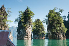 Surat- Thaniprovinz, Thailand Stockfotografie