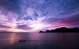 Surattani Thaïlande de donsak de ferry de rajah Photographie stock libre de droits