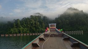 Suratthani озера Buatiful Стоковые Фотографии RF
