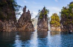 Suratthani del parco nazionale del sok di Khao Fotografia Stock Libera da Diritti