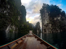 suratthani Tailândia da represa do rahcaprapa Fotografia de Stock