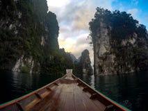 suratthani Tailandia della diga di rahcaprapa Fotografia Stock