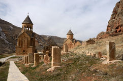 Surb Astvatsatsin和Surb Karapet教会, Noravank,亚美尼亚 库存照片